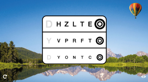 3D-Erlebnisrefraktion zur Augenglasbestimmung
