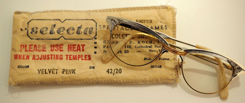 Historische Brille selecta New York