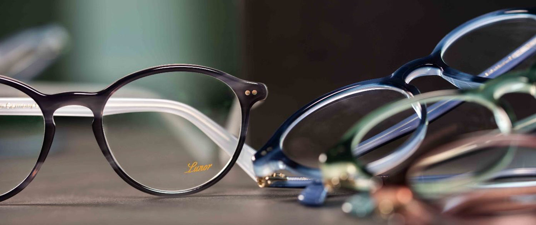 Lunor-Brillen mit neuen Farben
