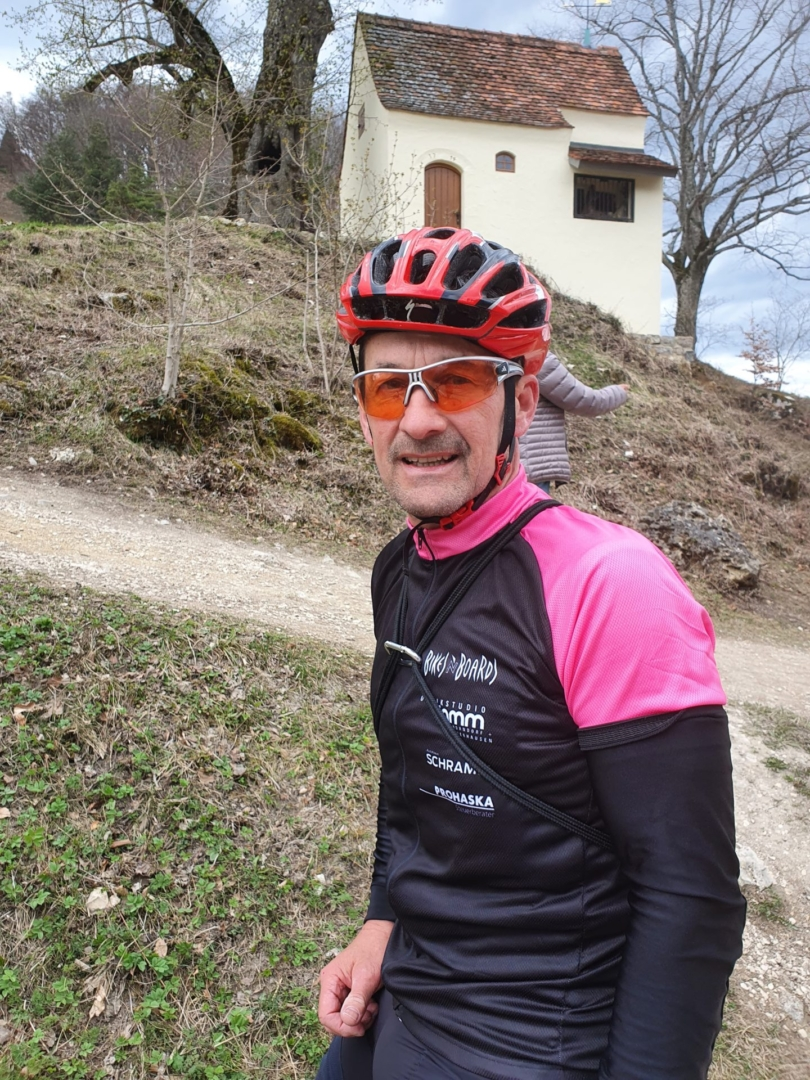 Hügeltour 2021: Roland Hänger (Reiterleskapelle)